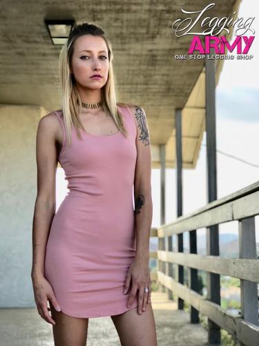 Tank Top Dress- Blush