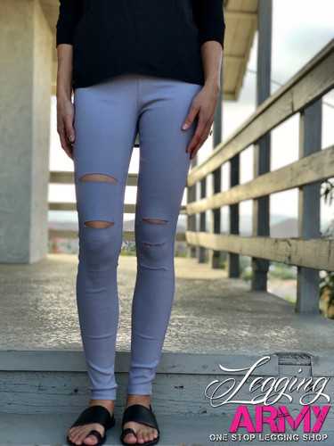 Premium Jeggings- Grey