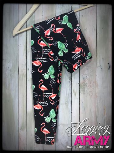 Plus Size- Let's Flamingle