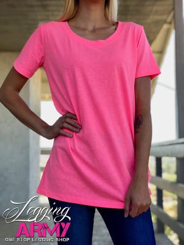 T-Shirt- Neon Pink
