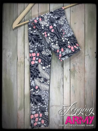 "Yoga 5"" Waistband- (One Size): Pops of Spring"