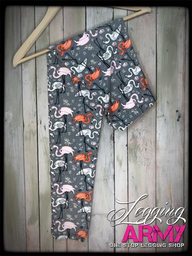 Plus Size- Flamingo Mingle