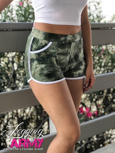 Shorts- Olive Summer