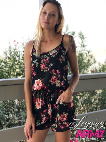 Romper With Straps- Vixen