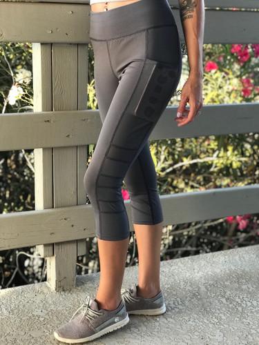 Capri Active Wear- Bubbly: Grey