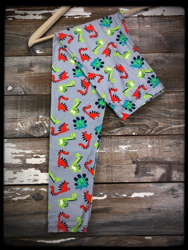 3XL/5XL (24-32)- Baby Dinosaur Doo doo Da Doo Da Doo