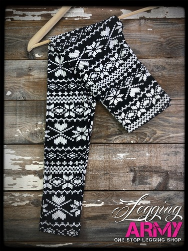 "Yoga 5"" Waistband- (Plus Size): Cozy Winter"