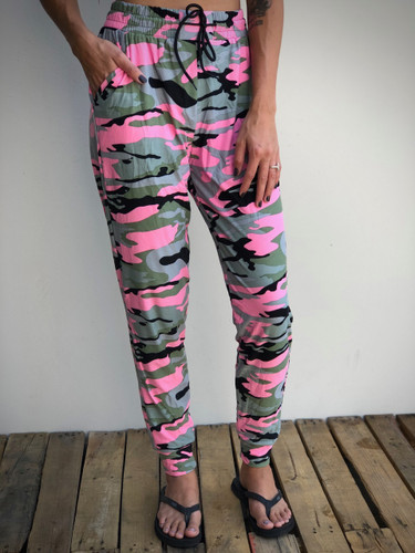 Jogger- Stealth Pink Camo