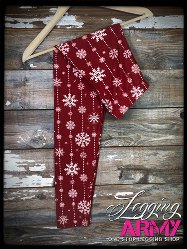 Plus Size- Red-Y For Snow