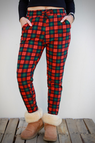 Jogger- Pop's Flannel