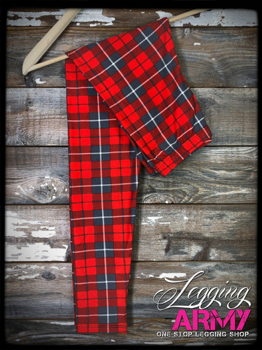 3XL/5XL (22-28)- Plaid To Meet Ya'!