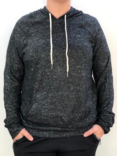 Plus Size Knit Pullover- Black