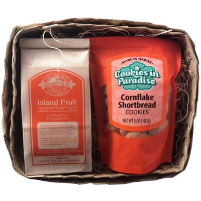 Hawaiian Tea Company Tea and Cookies