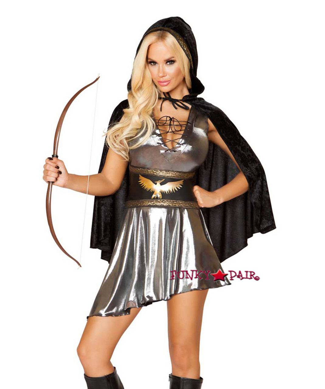 roma costume | r-10110, women's huntress