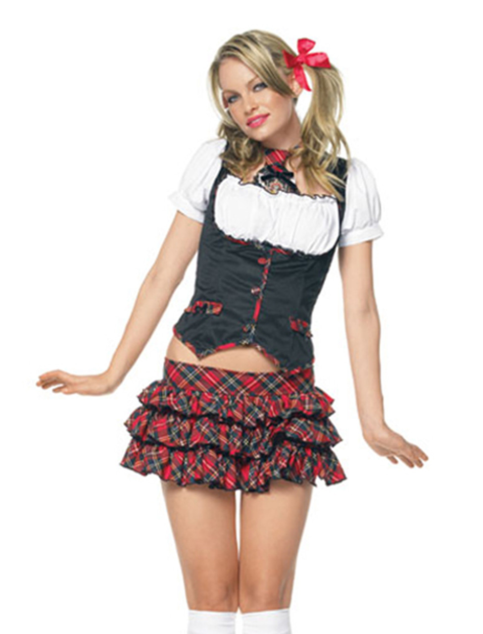 Leg Avenue Little Miss Naughty School Girl Costume La-83355-7628