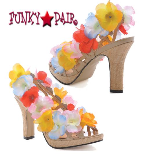 402-Luau, 4 inch flower sandal
