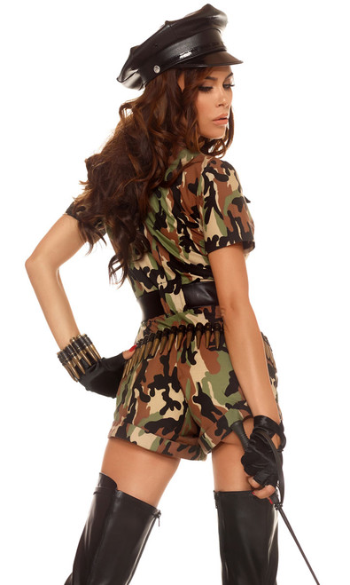Sexy camouflage outfit