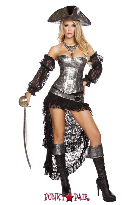 roma costume r 4572 pirate captain