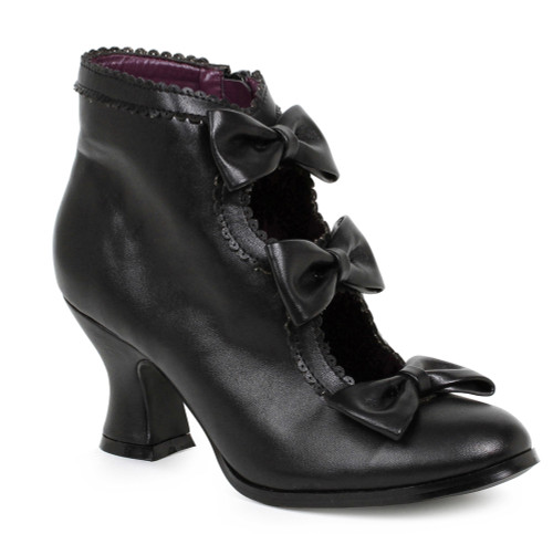 253-Missy, 2.5 Inch Heel Bootie with Bows