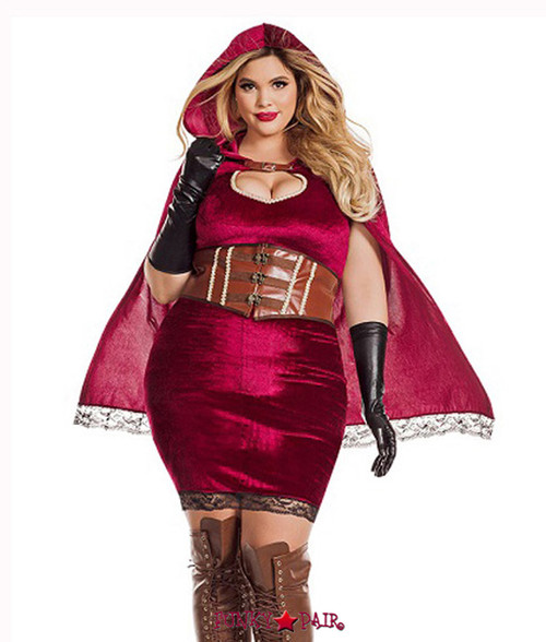 S7110X PLUS RED RIDING HOOD ...  sc 1 st  FunkyPair & PLUS SIZE COSTUMES - Plus Size Halloween Costumes - Plus Size Adult ...