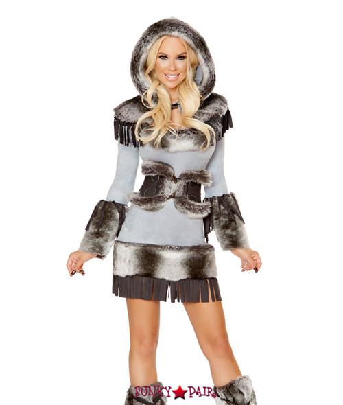 R-4809 Eskimo Cutie ...  sc 1 st  FunkyPair & Cowgirl Costumes - Sexy Sheriff Costumes - Cowgirl Sheriff Costume