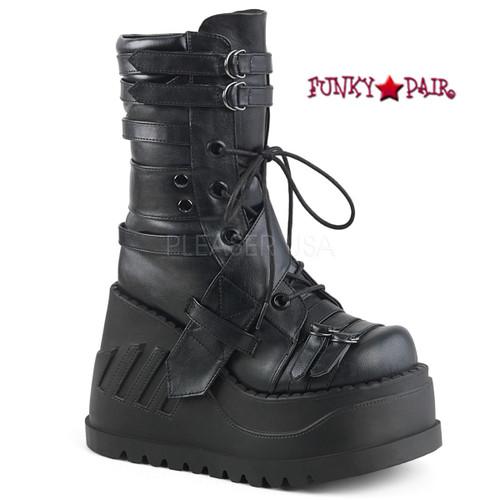 Demonia Clash 206 Wedge Mid Calf Boot (Women's) uYEwQ