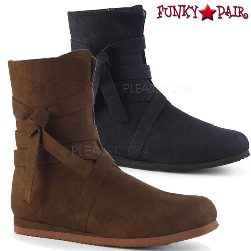 Funtasma | RENAISSANCE-57, Men's Renaissance Boots color available: black or brown microfiber