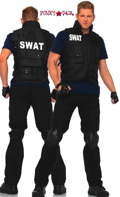 sc 1 st  FunkyPair & Leg Avenue | LA-83682 SWAT Commander Costume
