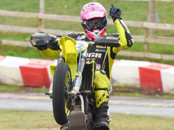 Davey Todd - Supermoto Bike Rider