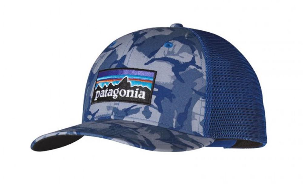 P6 TRUCKER HAT BIG CAMO: LEADEN BLUE ALL