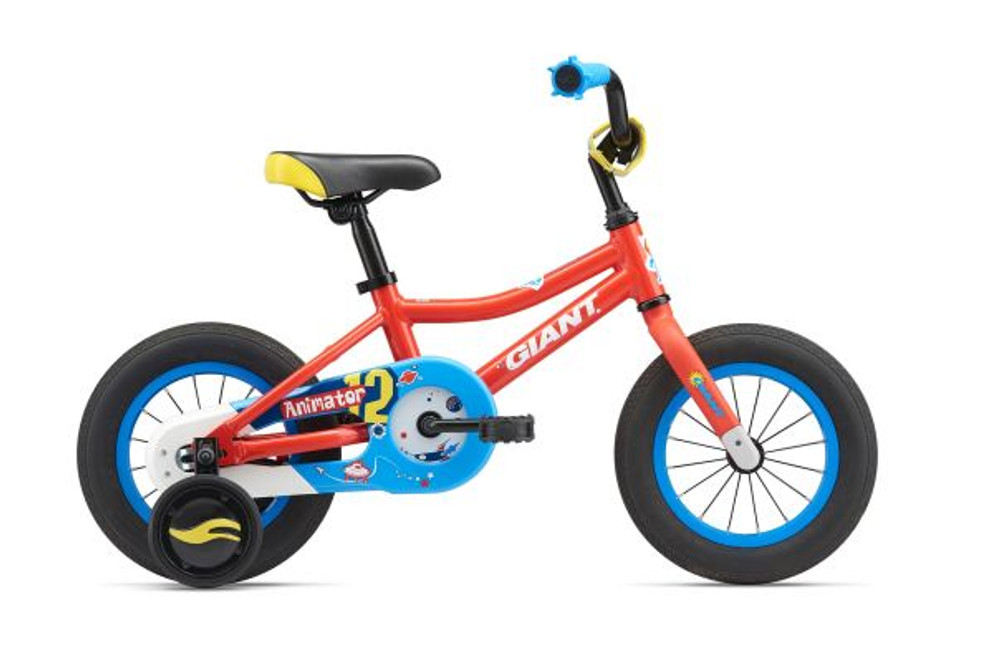 NOTHING BEATS THE FEELING OF YOUR FIRST TWO-WHEELER. ANIMATOR MAKES MEMORIES THAT YOUNG RIDERS NEVER FORGET.  Available with 12 or 16-inch wheels and removable training wheels, this is an express ticket to fun and freedom.