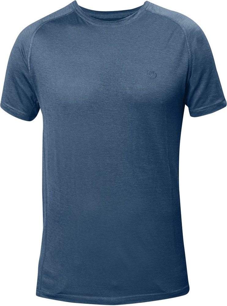 ABISKO TRAIL T-SHIRT UNCLE BLUE
