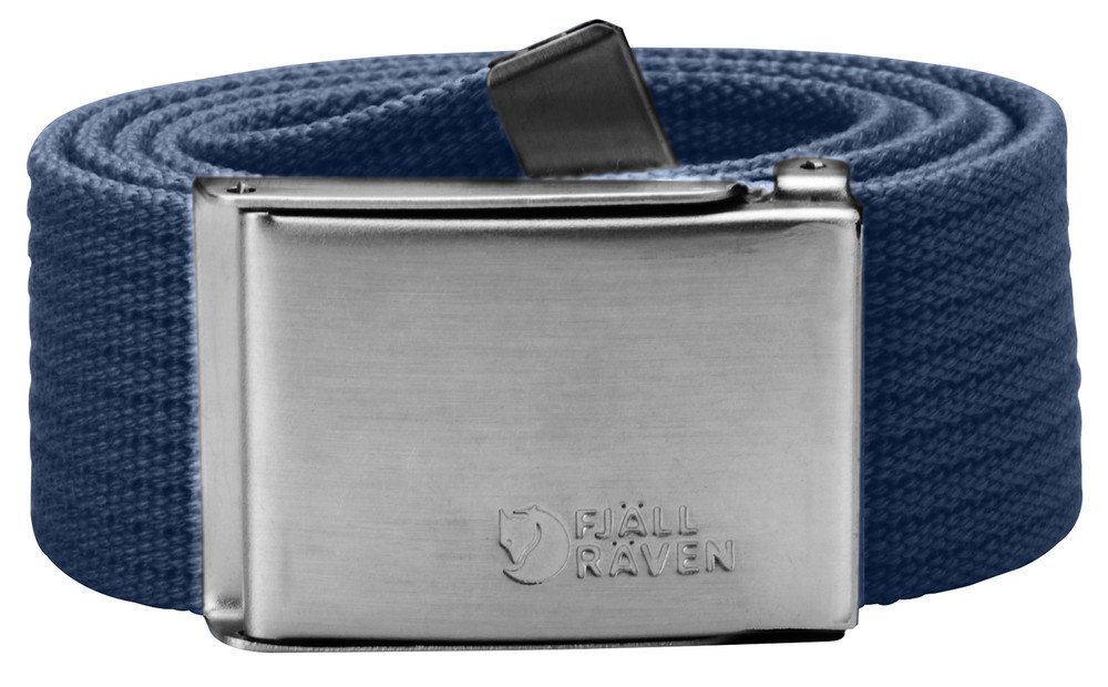 Canvas Belt Blueberry 1 Size