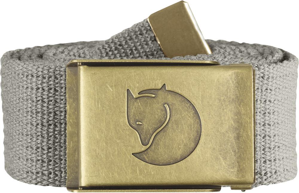 Canvas Brass Belt 4 cm. / Canvas Brass Belt 4 cm. Fog 1 Size