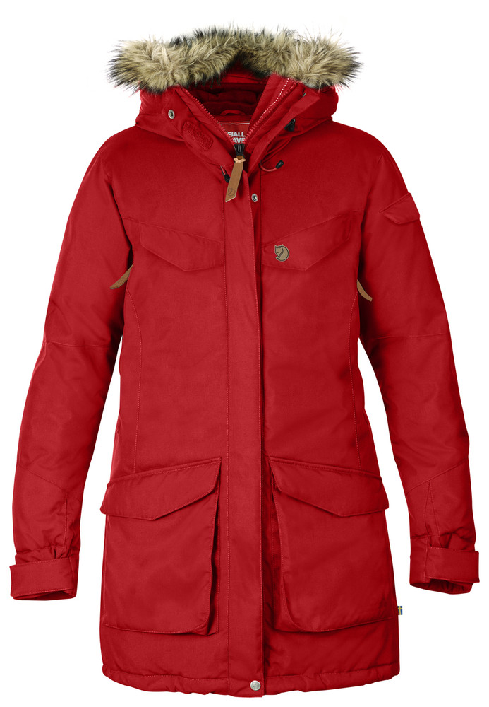 Nuuk Parka Red