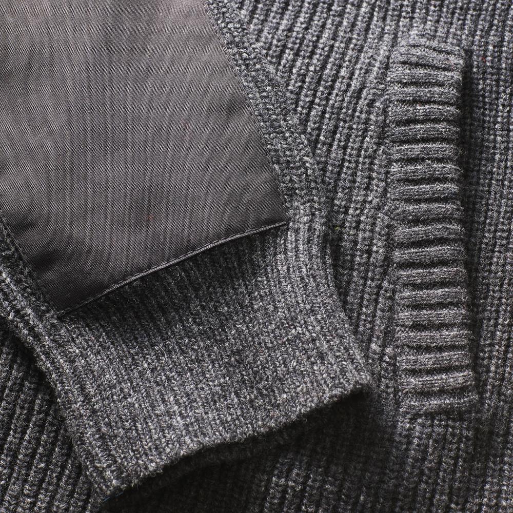 Ovik Zip Cardigan W  Light Grey