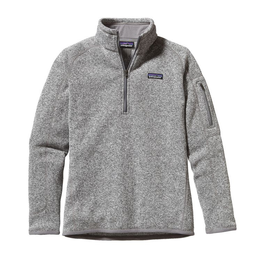 W's Better Sweater 1/4 Zip Birch White