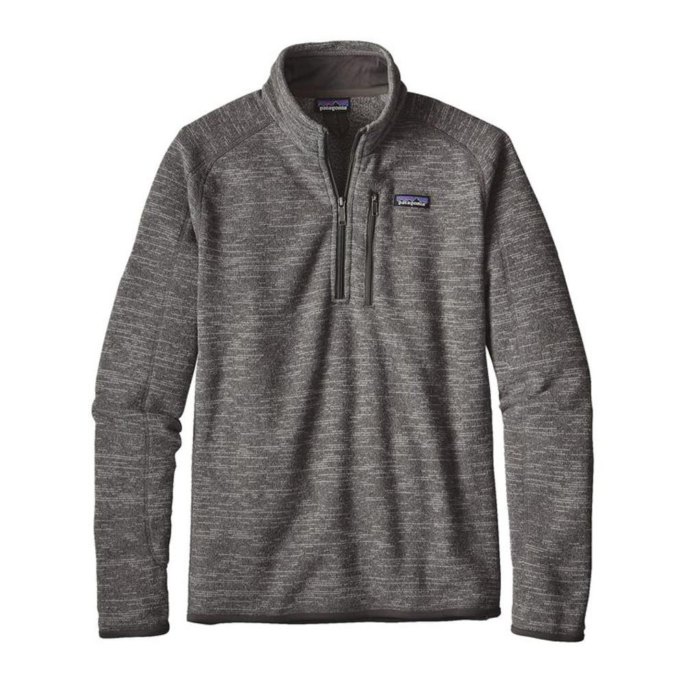 M's Better Sweater 1/4 Zip Nickel