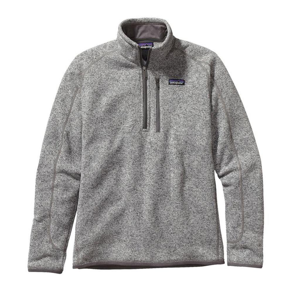M's Better Sweater 1/4 Zip Stonewash