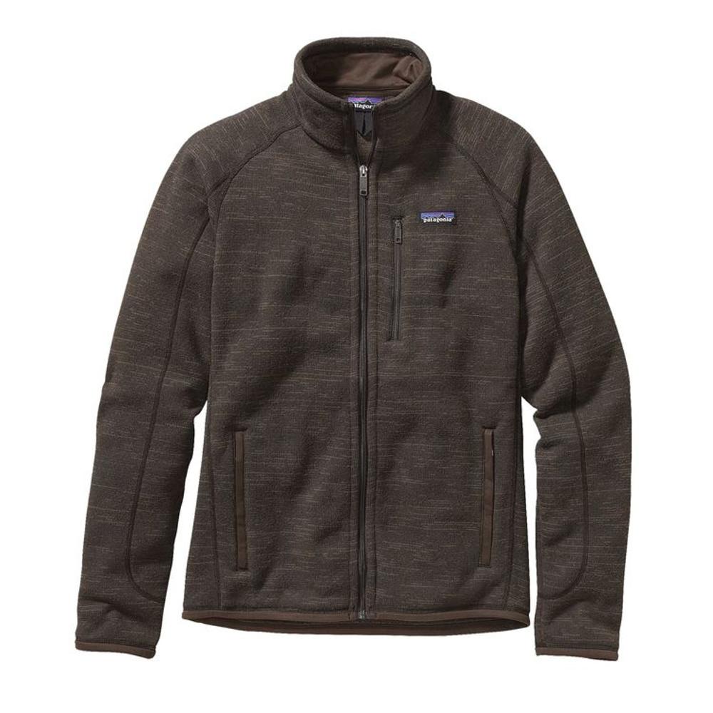 M's Better Sweater Jkt Dark Walnut