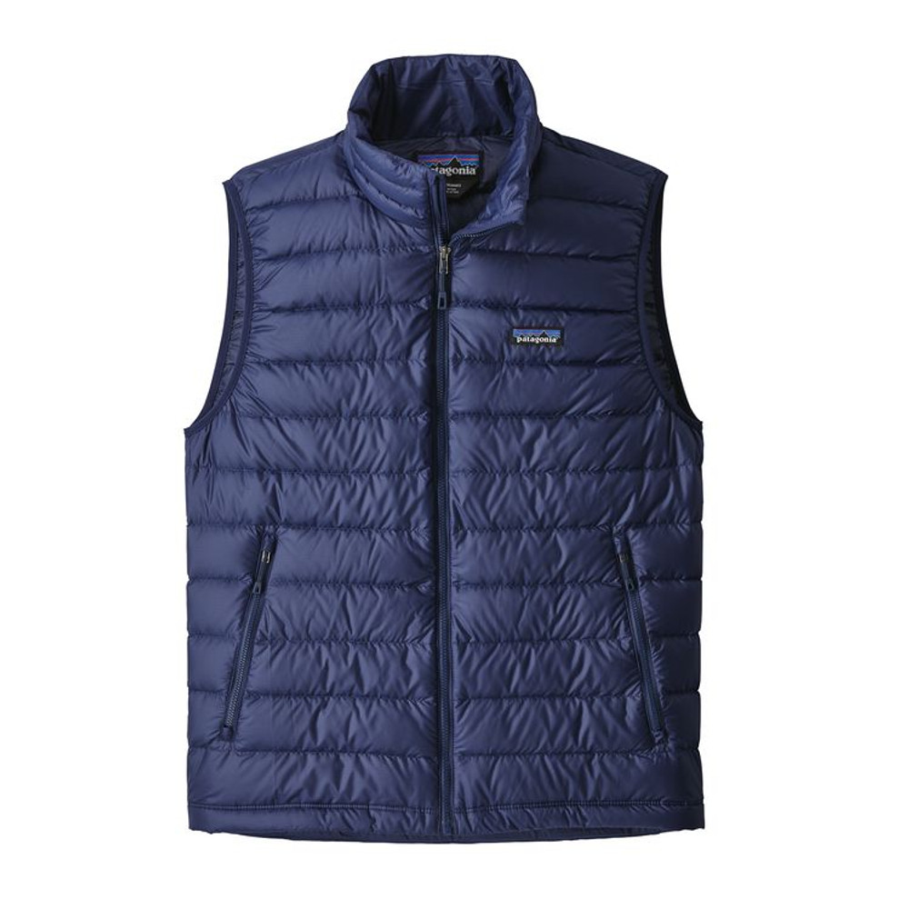 M's Down Sweater Vest Navy Blue w/Navy Blue