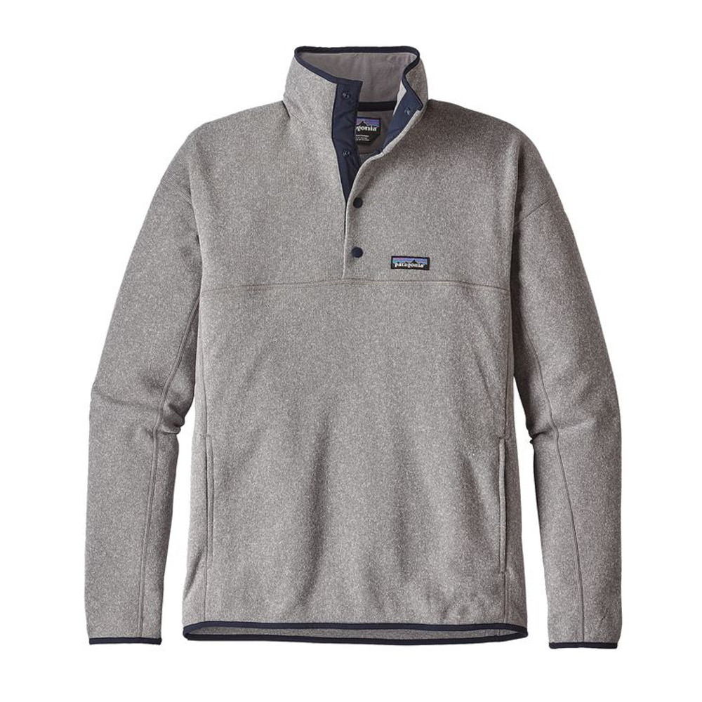 M's LW Better Sweater Marsupial P/O Feather Grey