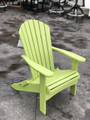 Folding Adirondack Chair Kiwi Green