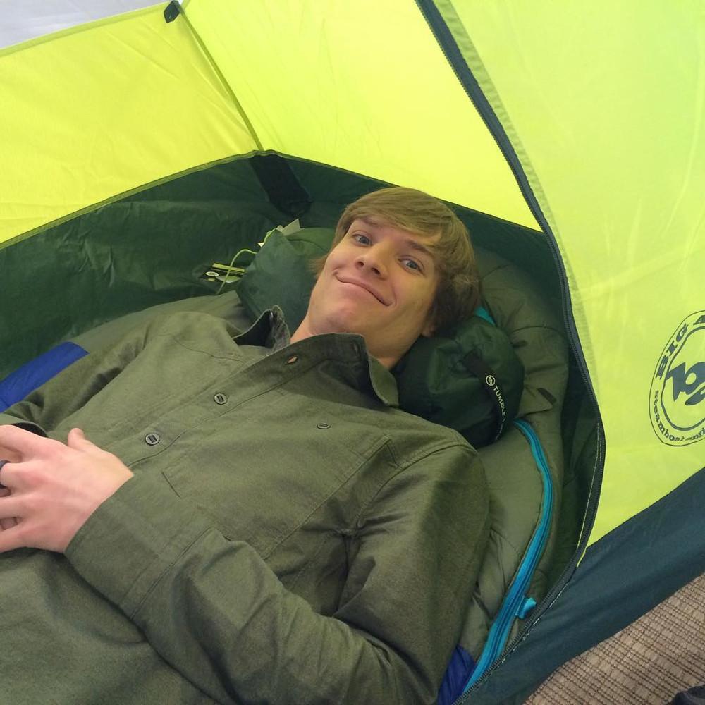 Daniel Talks Tents