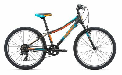 XTC Jr 24 Lite Charcoal/Teal/Neon Orange