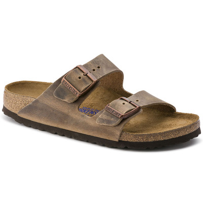 Arizona Soft Footbed Oiled Leather Tobacco Brown Regular