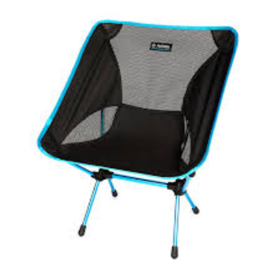 HELINOX CHAIR ONE CAMP CHAIR: BLACK