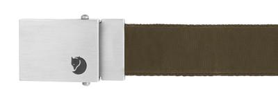 Canvas Money Belt Dark Olive 1 Size
