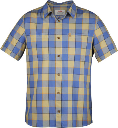 High Coast Big Check Shirt SS / High Coast Big Check Shirt S UN Blue