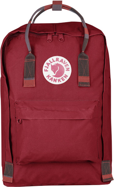"Kanken 15"" Deep Red-Random Blocked"